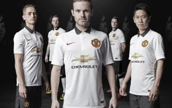 Pic: ICYMI: Manchester United officially unveiled their new away kit last night