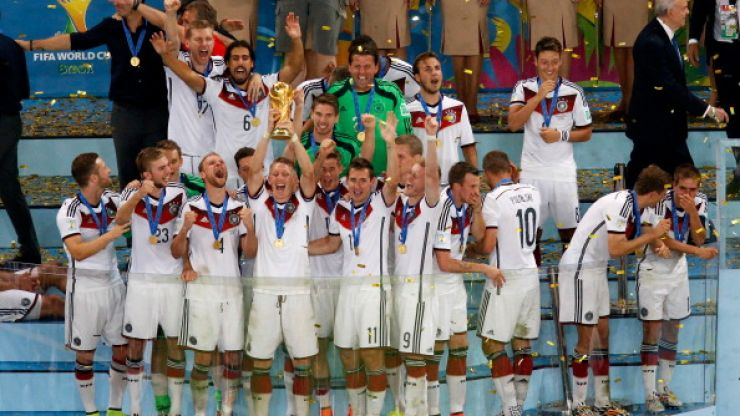 Pics and video: Germany's homecoming produced some amazing scenes, and even better dance moves
