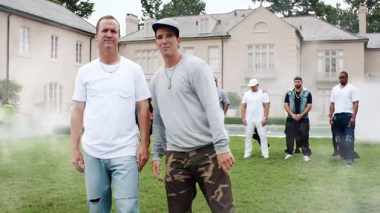 Video: YES! We have a new Peyton and Eli Manning rap song