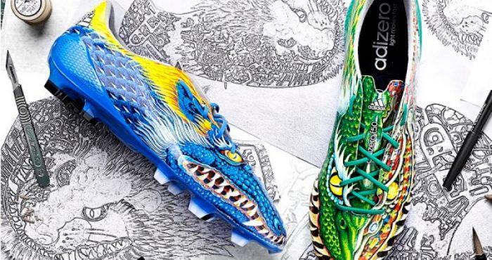 dragon adidas boots