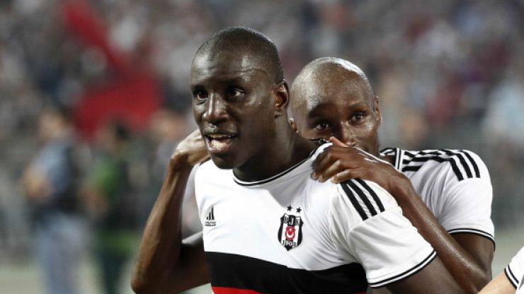 Vine: Demba Ba almost scores sensational goal straight from kick-off against Arsenal