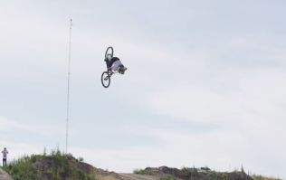 Video: This guy pulled off the first-ever triple backflip on a mountain bike