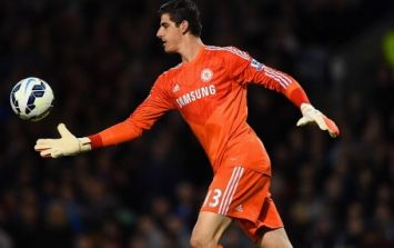 Jose Mourinho confirms that Thibaut Courtois is his new first choice goalkeeper