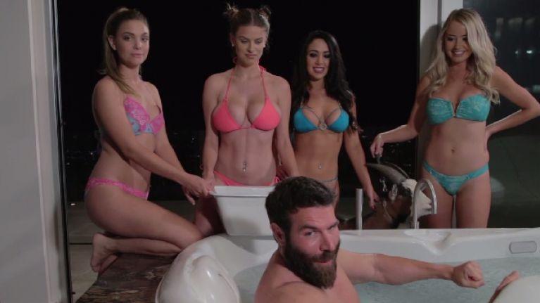 VideoDan Ice Included Challenge Bucket Bilzerian's Bikini Models KJ1clTF3
