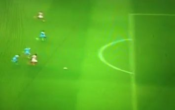 Vine: Mame Biram Diouf runs length of the pitch before scoring against Manchester City