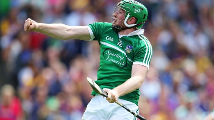 Vine: Shane Dowling's incredible one-handed point for Limerick against Kilkenny