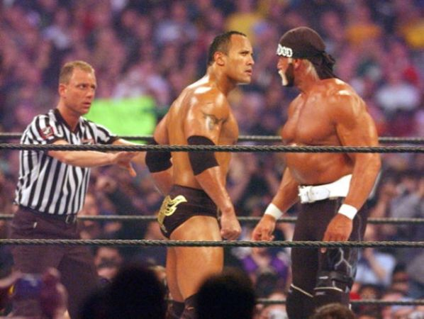 Wrestlemania XVIII: Hogan vs The Rock