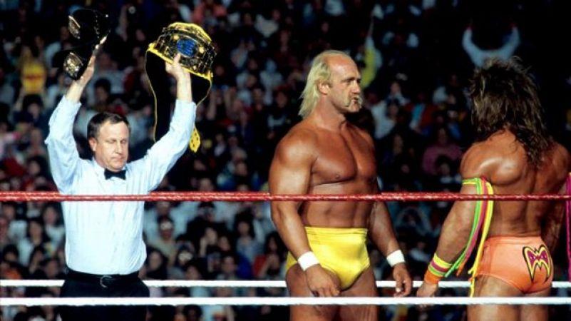 Wrestlemania VI : Hulk Hogan v The Ultimate Warrior
