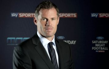 Run for your life! Jamie Carragher makes a promise that we sincerely hope he doesn't keep