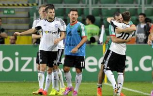 Pic: Legia Warsaw take the ultimate dig at UEFA with this massive banner