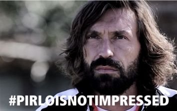 Video: The very impressive Andrea Pirlo is not impressed, not even by knife-jugglers, breakdancers or bikini models