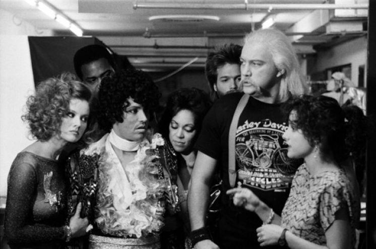 Hulk Hogan with Billy Crystal