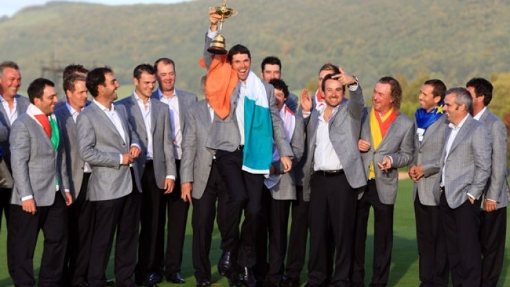 Five of Ireland's Great Ryder Cup Moments