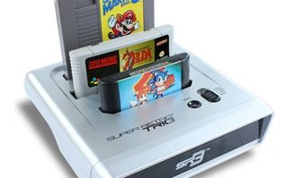 Geek overload! New console allows you to play NES, SNES and Megadrive games all in one
