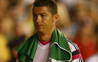 Pic: Cristiano Ronaldo's new Nike boots are black and sparkly