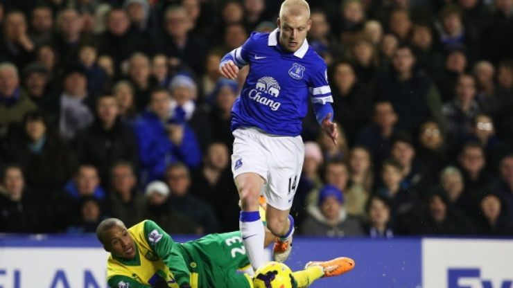 Kind-hearted Steven Naismith buys match tickets for unemployed Everton fans on Merseyside