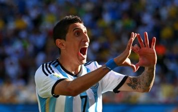 Manchester United agree fee just short of £60 million for the signing of Angel di Maria (Reports)