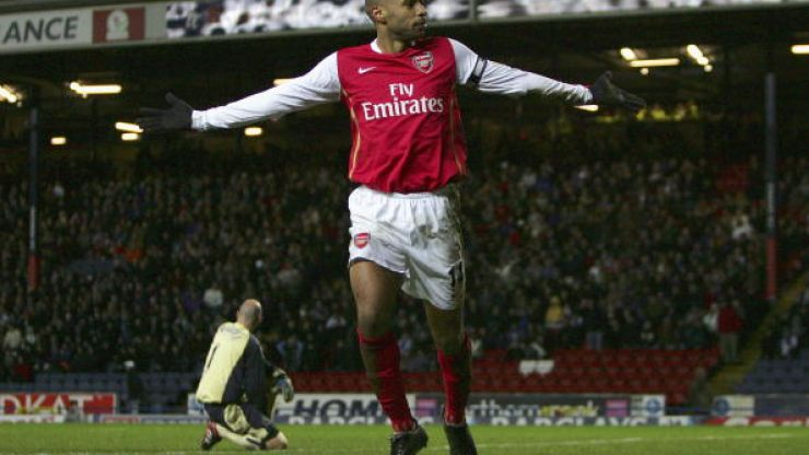 10 years ago today Thierry Henry scored this wonderful backheeled goal for Arsenal against Charlton