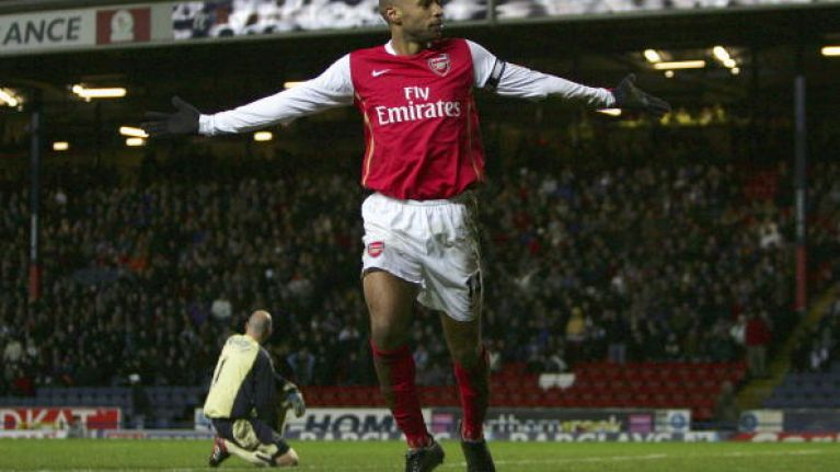 online retailer 5109d b1f73 10 years ago today Thierry Henry scored this wonderful ...