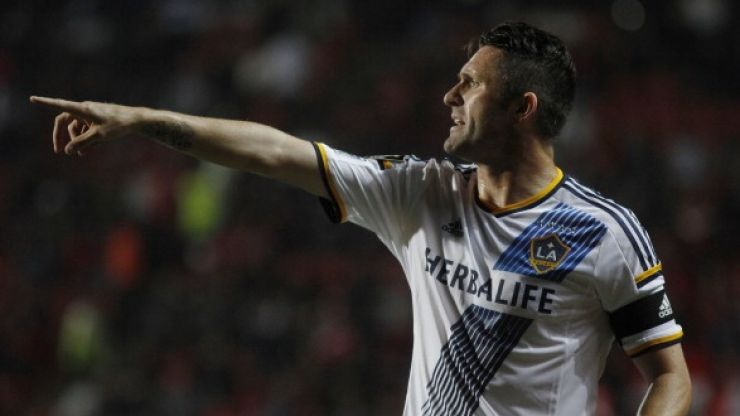 Video: Robbie Keane scored an absolutely audacious chip for LA Galaxy last night