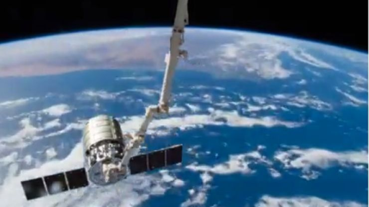 Vine: This is easily the most incredible time-lapse vine from space you'll see today