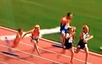 Vine: Steeplechaser knocks himself out after nasty hurdle fall at the Euro Athletics Championship