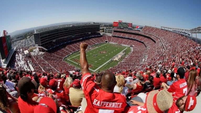 Is the San Francisco 49ers' new stadium the most high-tech sports venue in the world? Check it out...