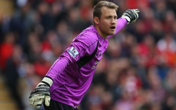 Simon Mignolet: Pressure is what's happening in Iraq, not at Anfield