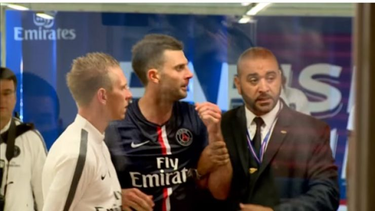 Video: Striker gets a six-month ban for this headbutt on PSG midfielder Thiago Motta