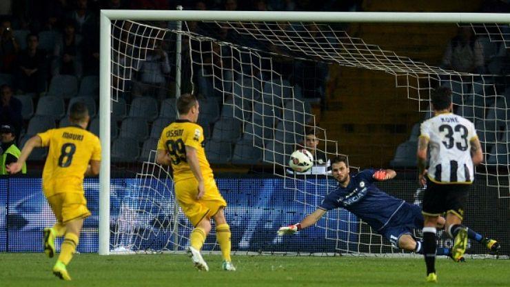 Vine: Antonio Cassano scored the perfect panenka penalty for Parma last night