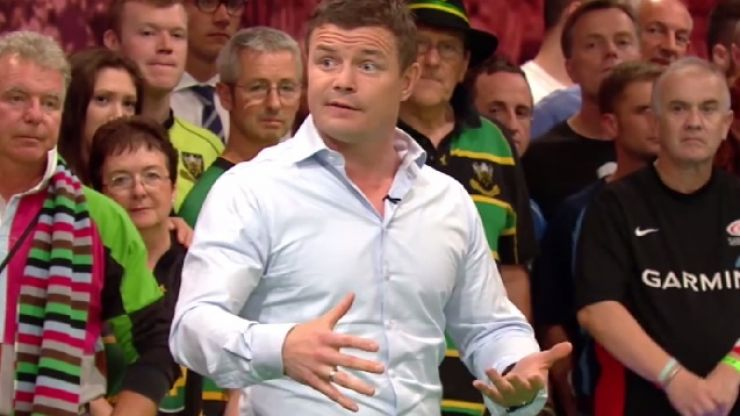Video: Check out Brian O'Driscoll's brilliant breakdown masterclass on BT Sport