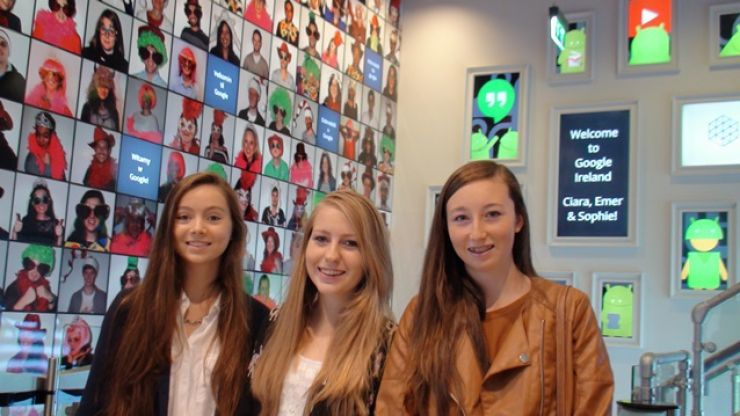 Irish teens claim the Grand Prize at the Google Science Fair