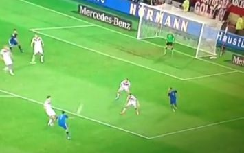 Vine: Angel di Maria's assist for Sergio Aguero tonight is... we have no words...