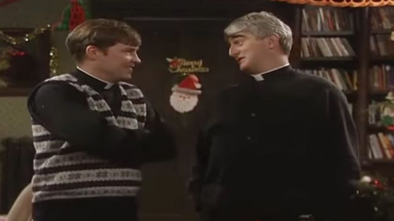 Pic: This Donegal fan is planning on bringing a Father Ted inspired banner to Croker on Sunday