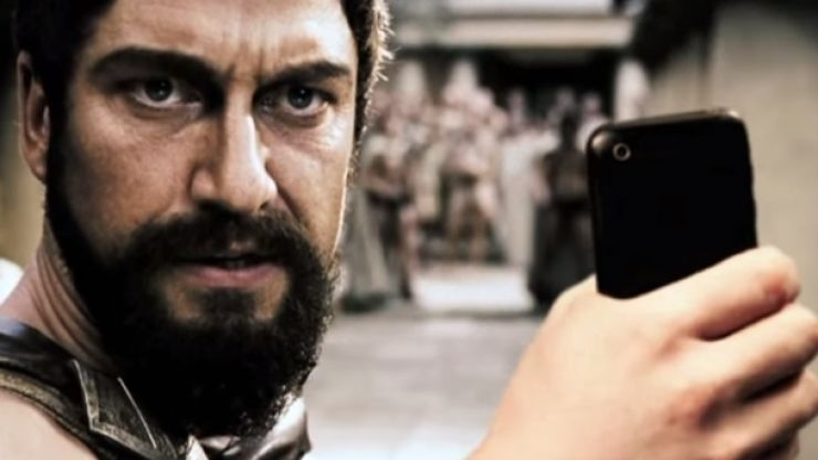 Video: Watch as your favourite movie characters constantly take ridiculously silly selfies...