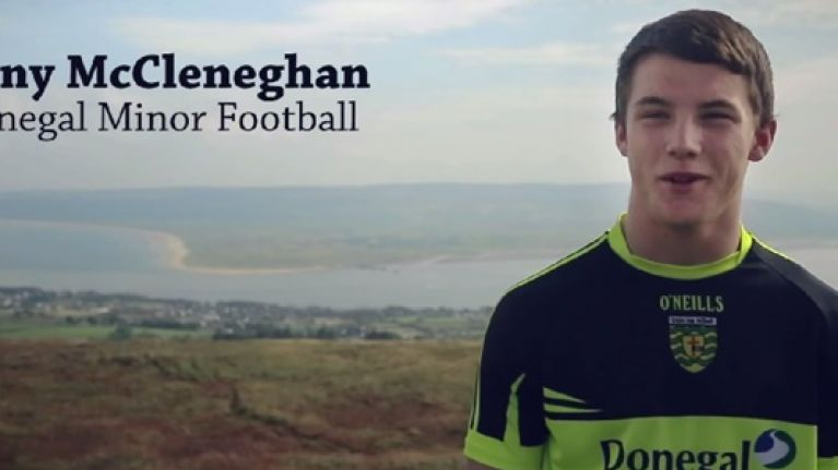 Video: Another great All-Ireland minor final preview featuring Donegal's Tony McCleneghan