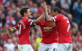 Vines: Angel di Maria and Ander Herrera score first Manchester United goals...