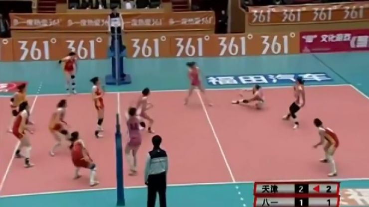 Video: Check out this remarkable volleyball rally that lasted one minute and 20 seconds