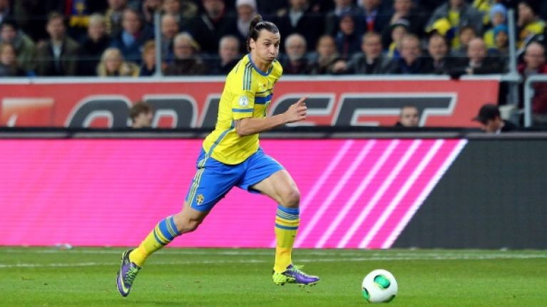 Zlatan's 50th international goal was extra significant as Swedish striker passes another milestone