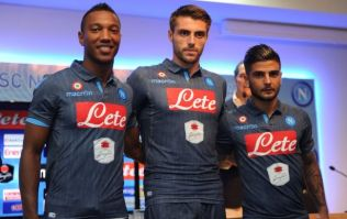 Pic: Yes, Napoli have actually released a new denim-style jersey