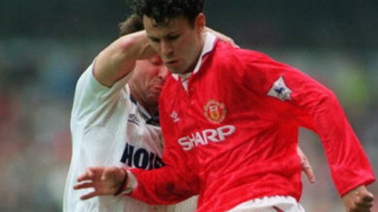 It's 22 years to the day since Ryan Giggs scored this amazing goal against Spurs