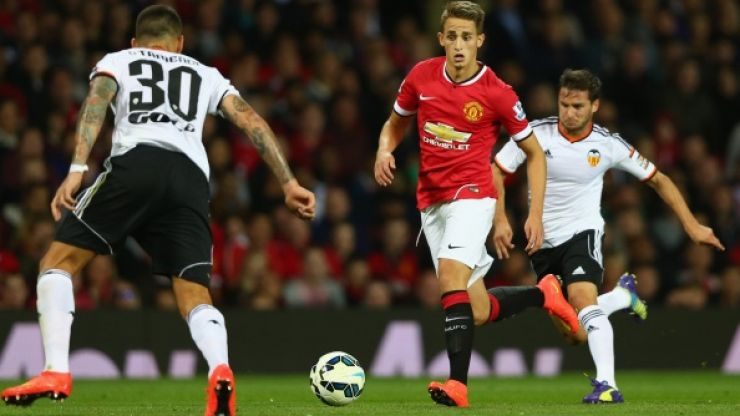 Vine: We think Adnan Januzaj meant to score this cracking free-kick for the Man United under-21s tonight