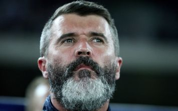Pic: Here's confirmation that Roy Keane's beard is indeed no more