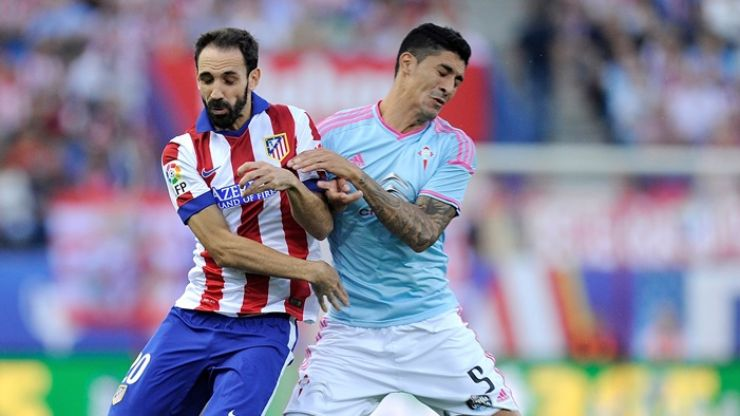 Vine: Pablo Hernandez scored an absolutely outrageous no-look back-heel against Atletico Madrid this evening