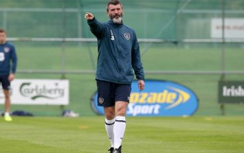 Pic: The free gift you get with this Roy Keane book is priceless