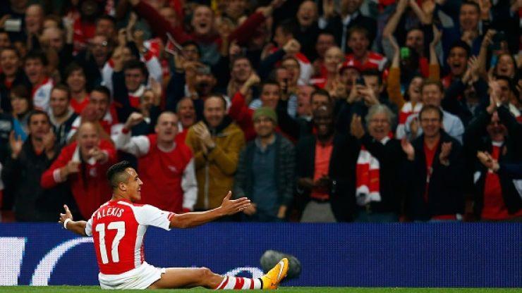 Vine: Alexis Sanchez's delightful free-kick gave Arsenal the lead against Southampton this evening