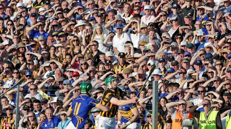 Check out these two stunning images of Croke Park on All-Ireland Hurling Final day...