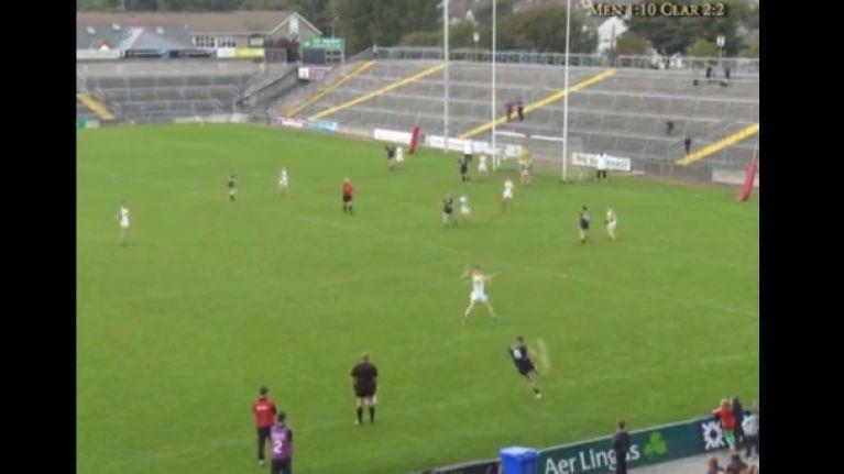 Video: Sensational Maurice Fitzgerald-esque point from Galway Intermediate final