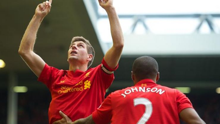 Vine: Quality Steven Gerrard free kick puts Liverpool ahead against Sunderland
