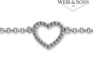 [Competition Closed] Get in her good books this Valentine's Day with a Carat London bracelet from Weir & Sons